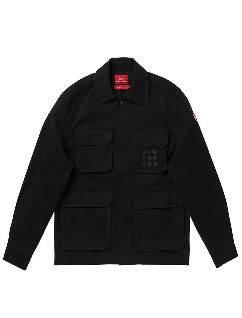 The New Originals Multipocket Jacket Black