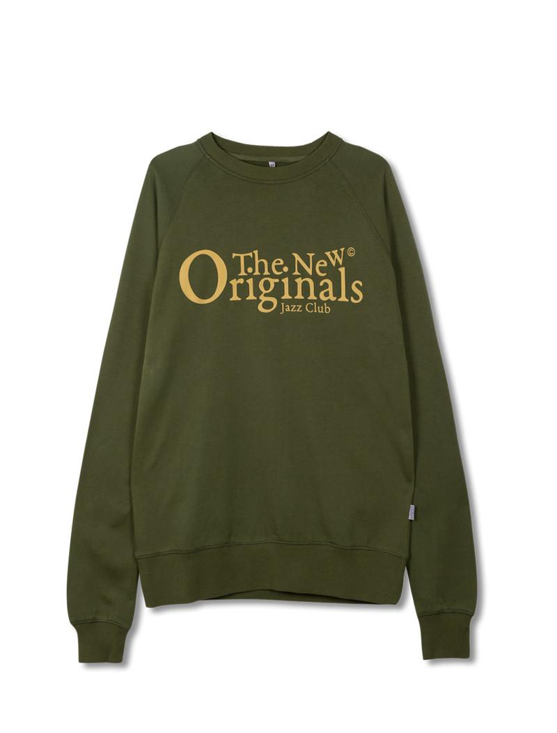 The New Originals Jazz Club Crewneck Green