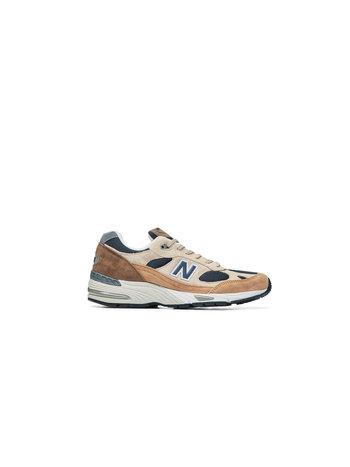 New Balance 991 'CAPPUCCINO' SAND NAVY