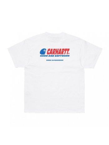 Carhartt WIP SS Software T-shirt White