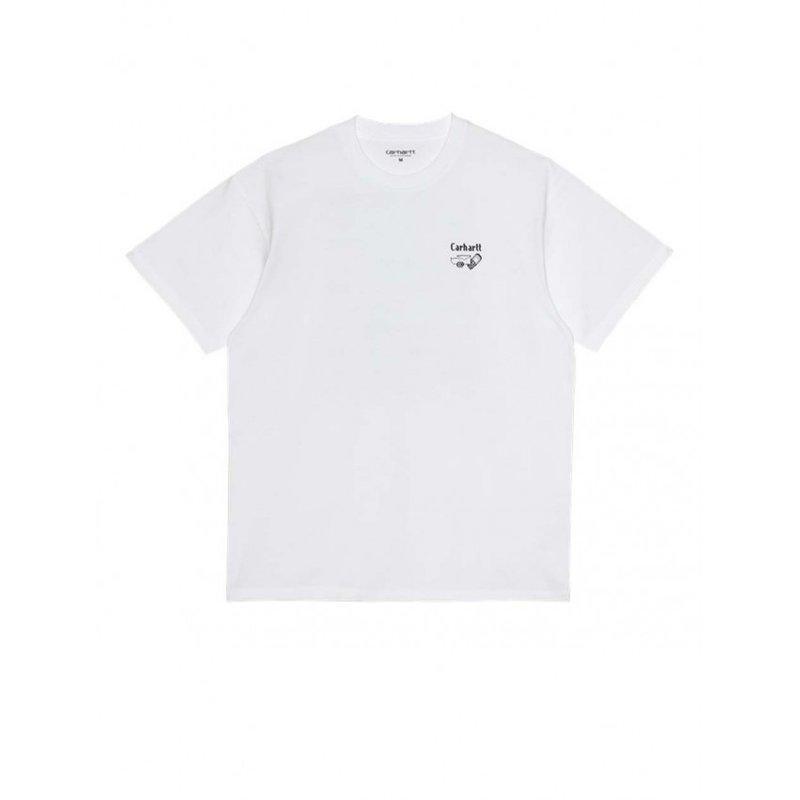 Carhartt WIP SS Screensaver T-Shirt White Black