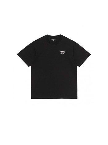Carhartt WIP SS Screensaver T-Shirt Black White
