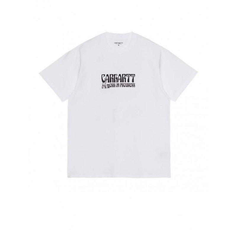 Carhartt WIP SS Removals T-shirt White Black