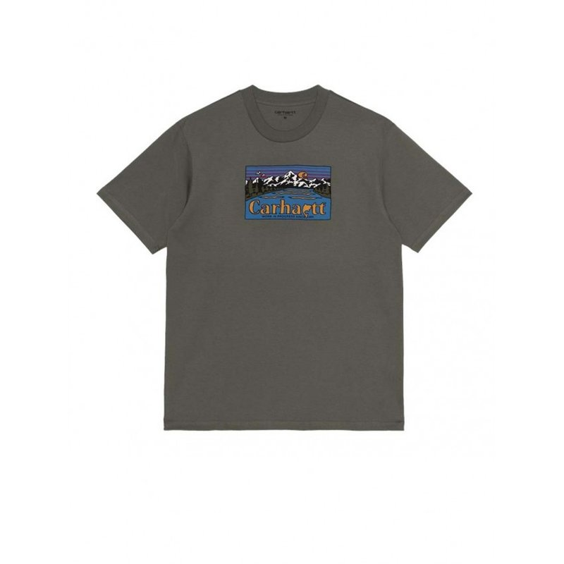 Carhartt WIP SS Great Outdoors T-Shirt Thyme