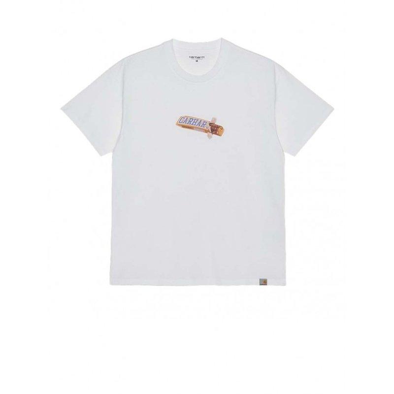 Carhartt WIP SS Chocolate Bar T-Shirt White