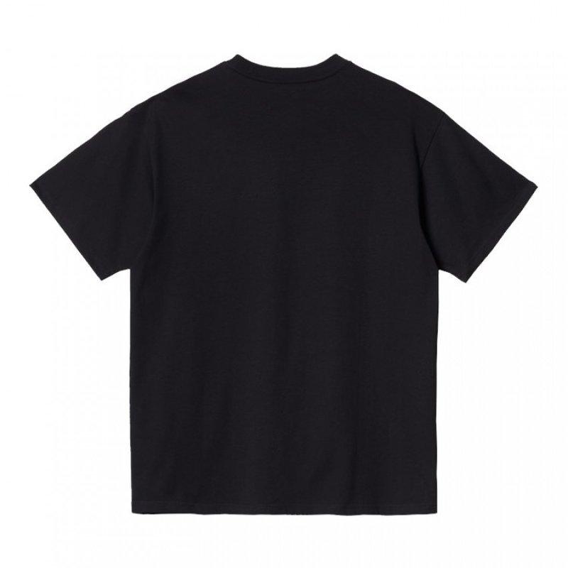 Carhartt WIP SS American Script T-Shirt Black
