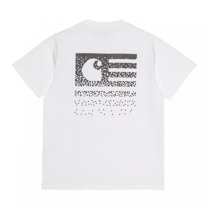 Carhartt WIP SS Fade State T-Shirt White Black