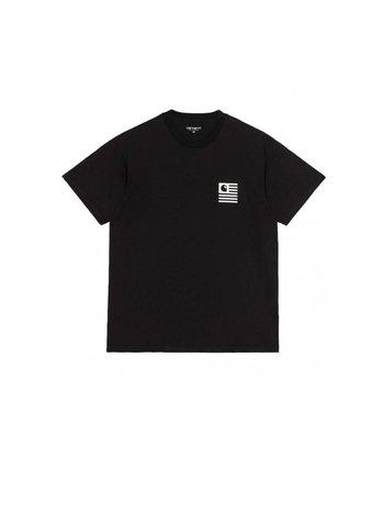 Carhartt WIP SS Fade State T-Shirt Black White