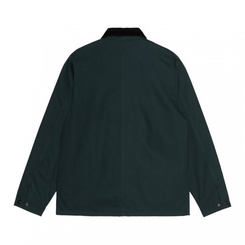 Carhartt WIP Michigan Coat Dearborn Canvas Frasier Black Rigid