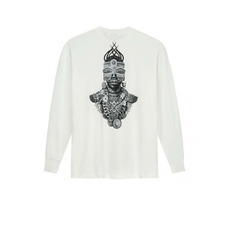 Daily Paper Linton LS T-Shirt White