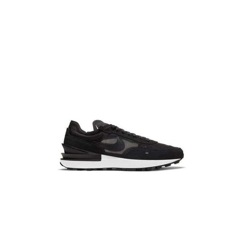 Nike Nike Waffle One Black Black White Orange