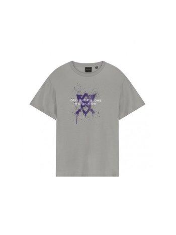 Daily Paper Lukus SS T-Shirt Grey