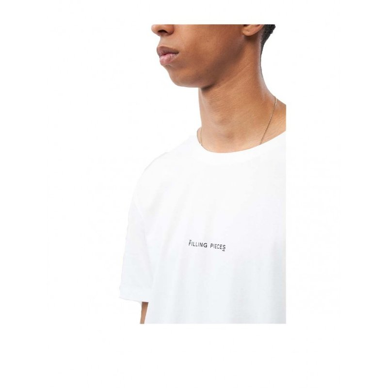 Filling Pieces Core Tee Slim Fit White