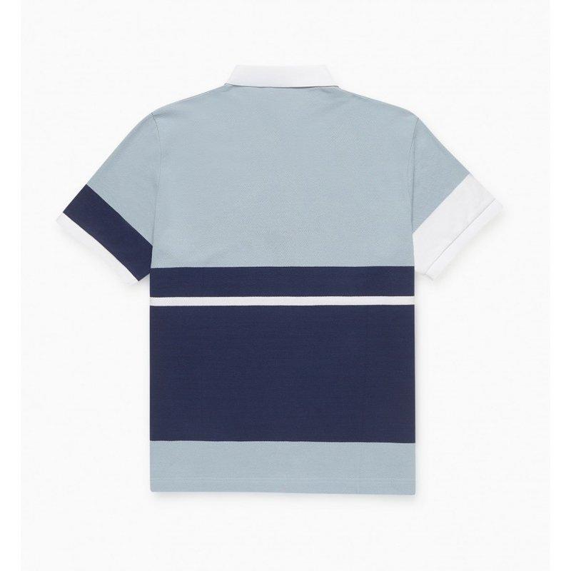 By Parra Pencil Logo Polo Shirt Blue