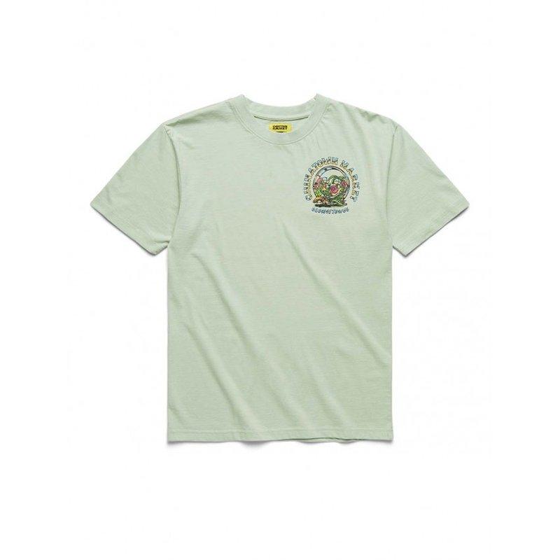 Chinatown Market Terrarium Co-Existence T-Shirt Tea Green