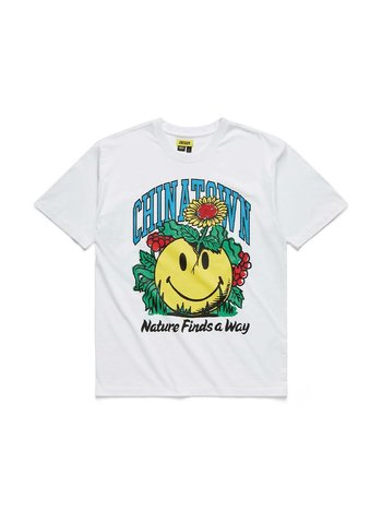 Chinatown Market Smiley Planter T-Shirt White