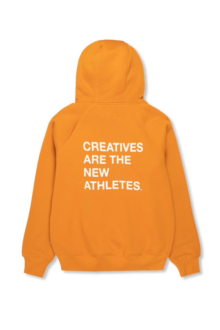 The New Originals Creatives Are The New Athletes Hoodie Orange