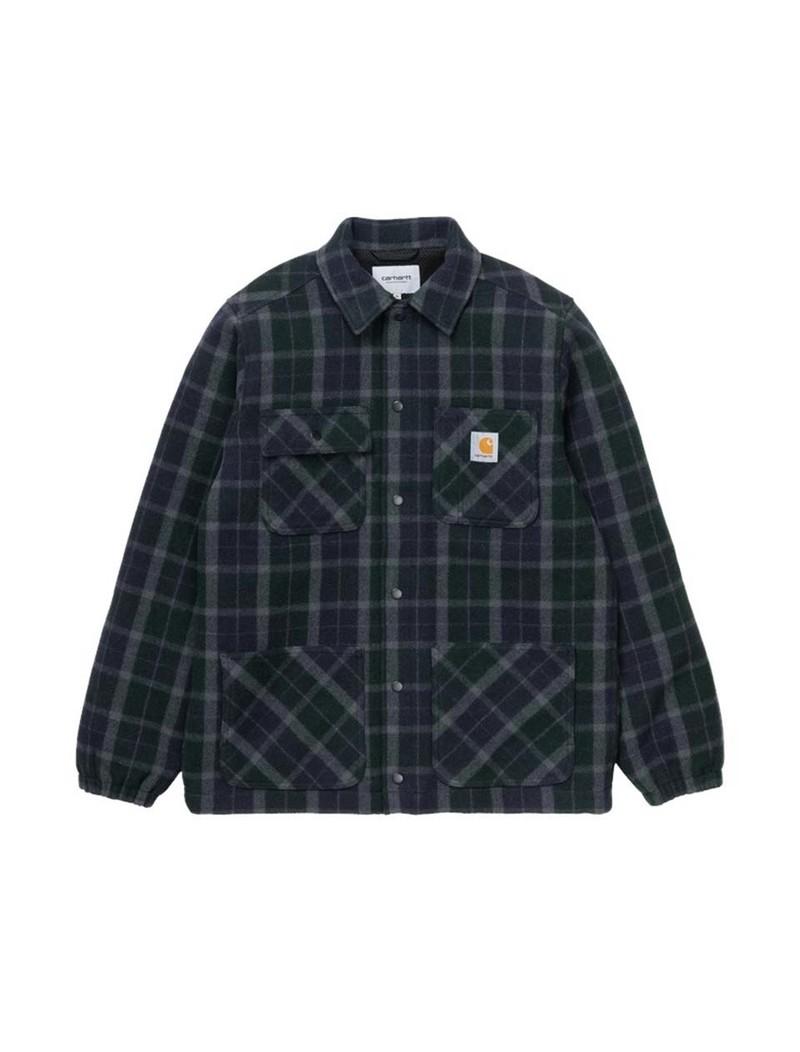 Carhartt WIP Blaine Jacket Blaine Check Grove
