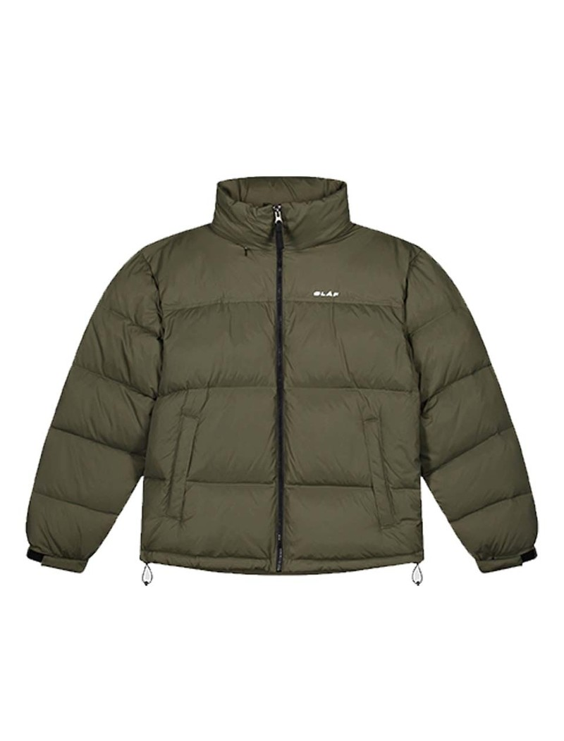 OLAF HUSSEIN Puffer Jacket Army Green