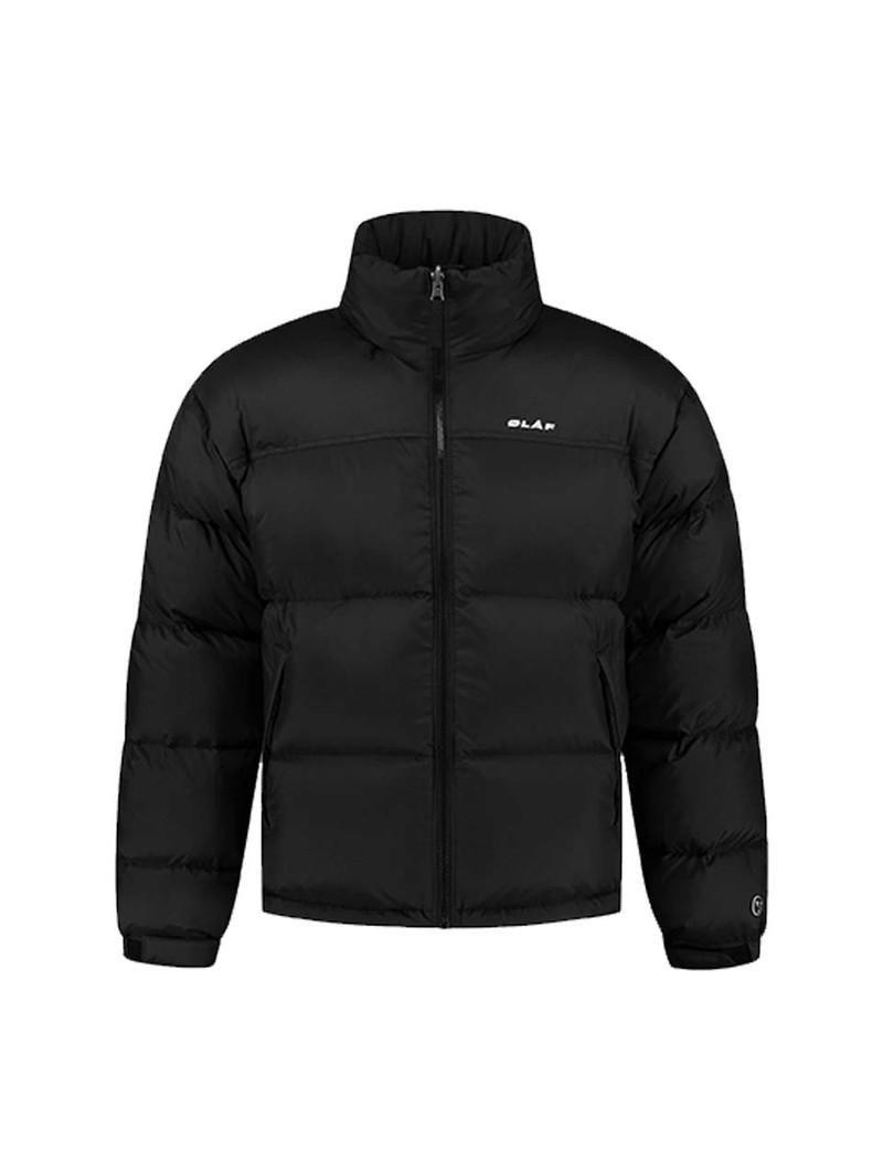 OLAF HUSSEIN Puffer Jacket Black