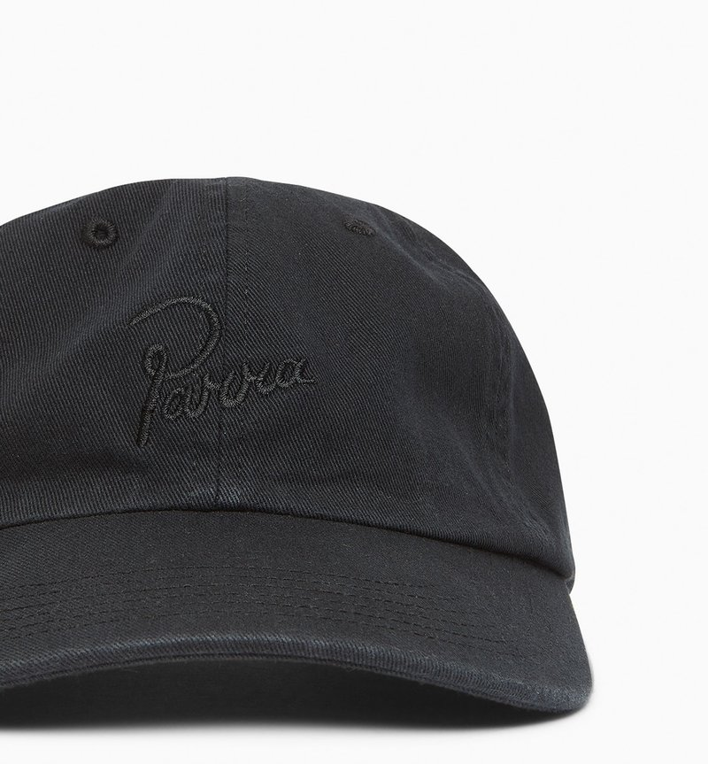 By Parra Signature Logo Washed 6 Panel Hat