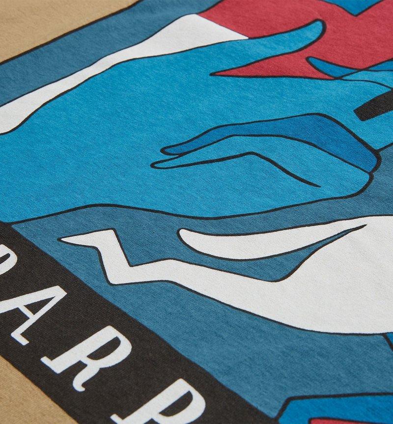 By Parra Bad Habits T-Shirts Camel