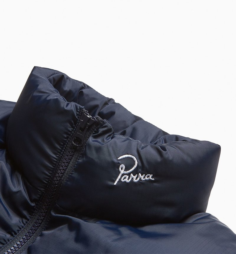 By Parra Gem Stone Puffer Jacket Navy blue