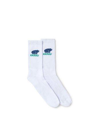 Karhu Classic Logo Socks White Ensign Blue