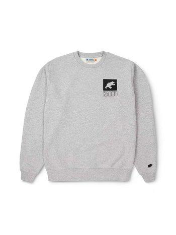Karhu Sports Bear Logo Sweater Heather Grey Jet Black