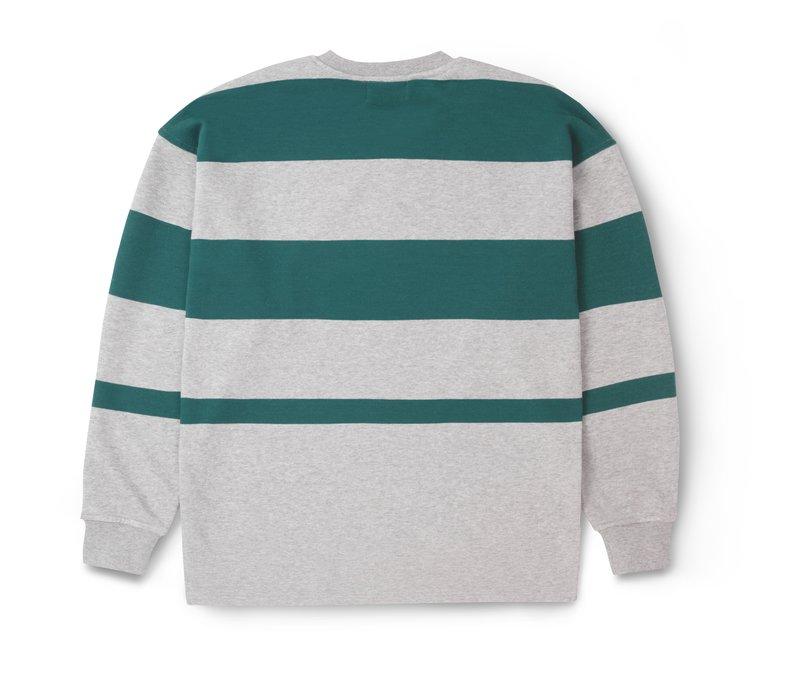 Karhu Uni Striped Sweatshirt Heather Grey June Bug