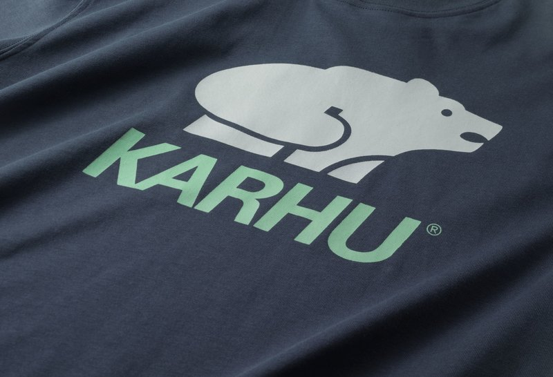 Karhu Basic Logo T-Shirt India Ink Pelican