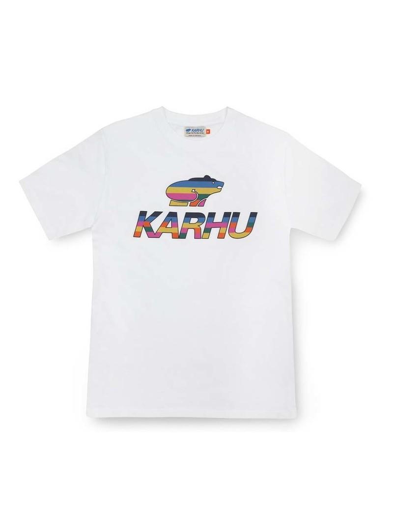 Karhu Team College Big Logo T-Shirt White MC OG