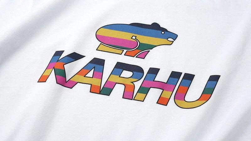 Karhu Team Collage Big Logo T-Shirt White MC OG