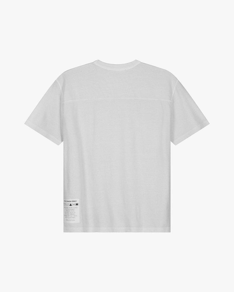 Cold Wash Sketched Logo T-Shirt Grey