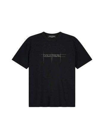 Cold Wash Sketched Logo T-Shirt Black
