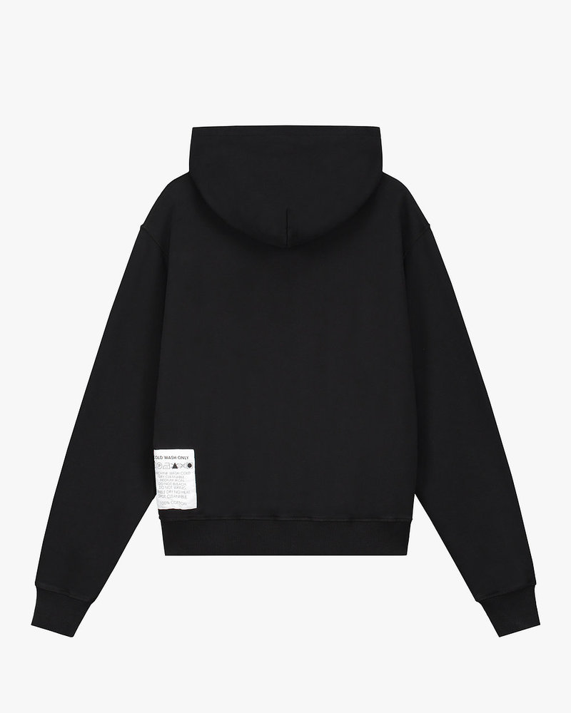 Cold Wash Atelier Opening Invitation Hoodie Black