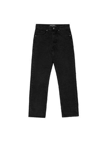 Cold Wash 5-Pocket Straight Jeans Black