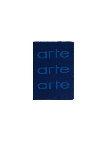 Arte Antwerp Alex Allover Scarf Navy Blue