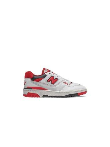 New Balance 550 White Team Red
