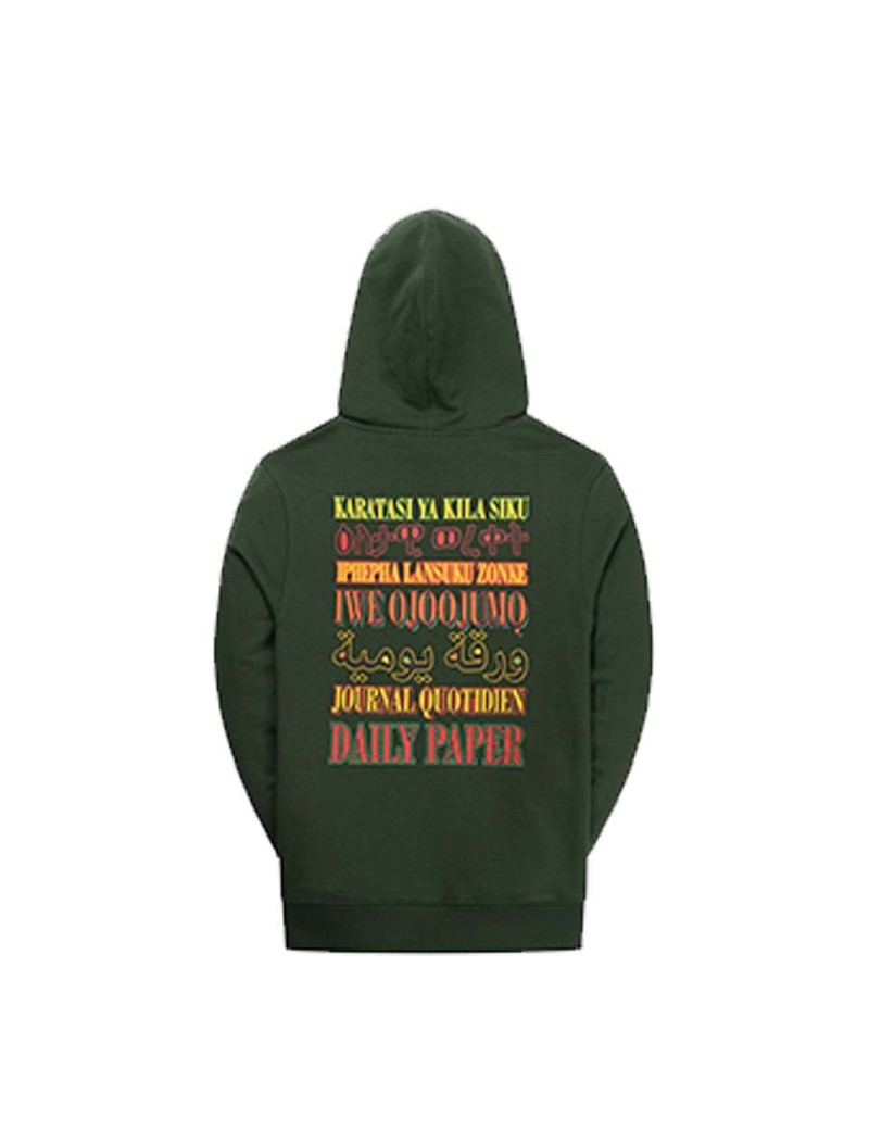 Daily Paper Remulti Hoodie Mountain Green