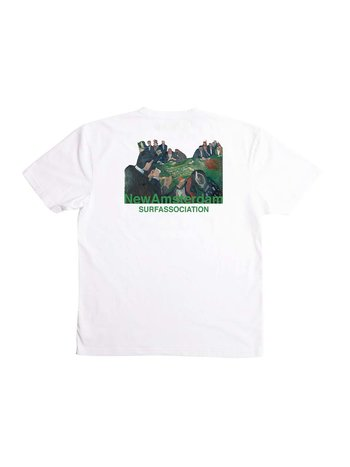 New Amsterdam Surf Association Table Tee White