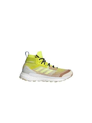 Adidas Terrex Free Hiker Primeblue Beige Tone Pulse Yellow Acid Yellow