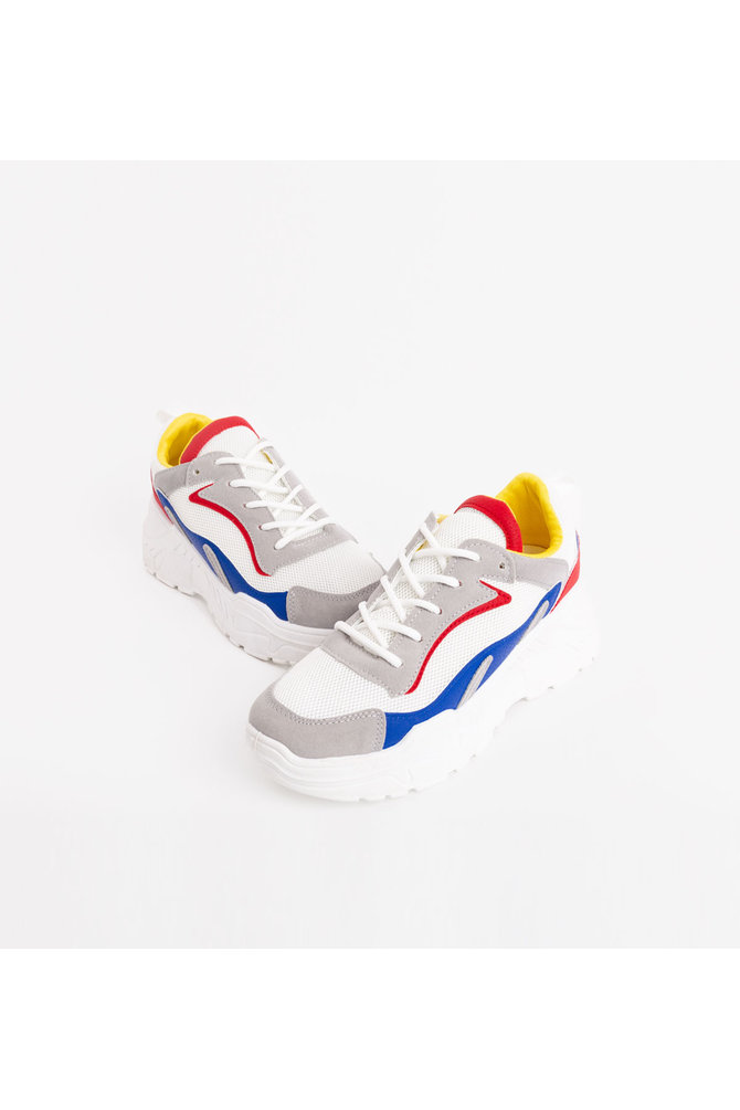 Witte dad sneaker