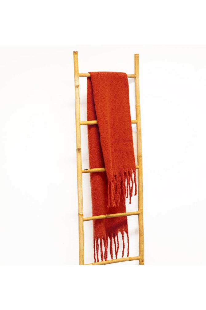 Wollen sjaal roest