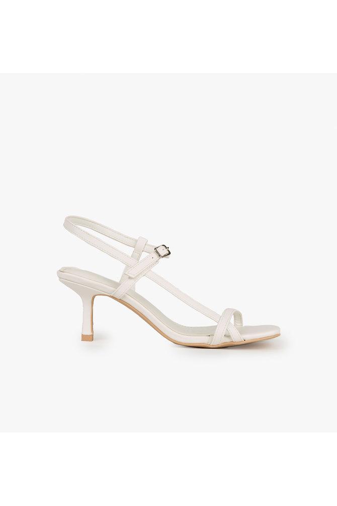 Witte sandaal