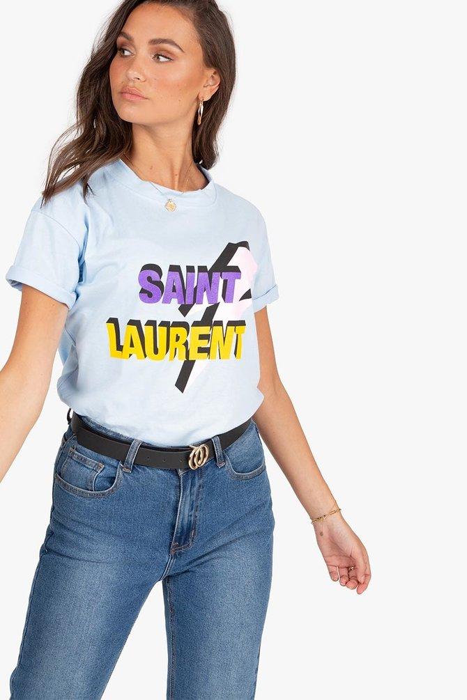 SAINT LAURENT - BLUE