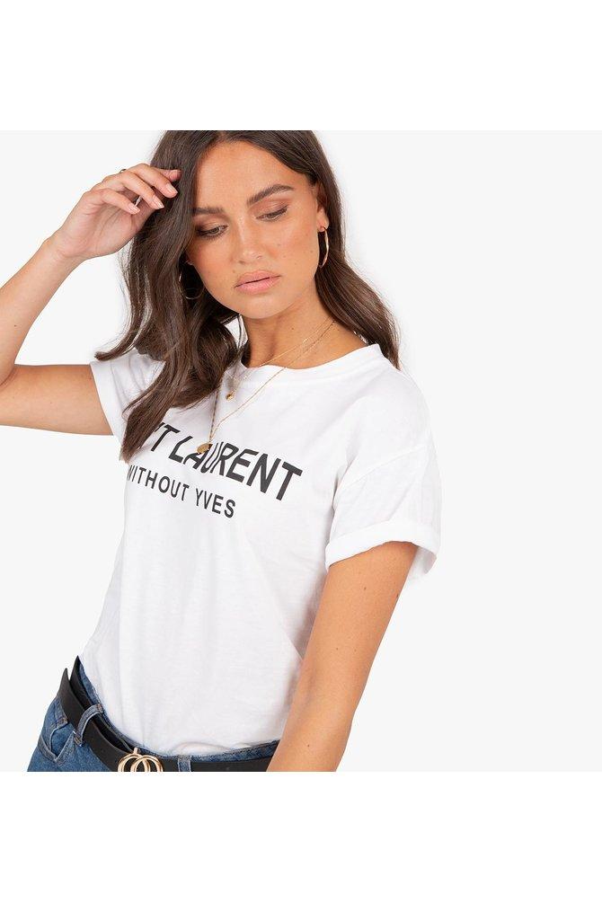 Ain't laurent shirt wit