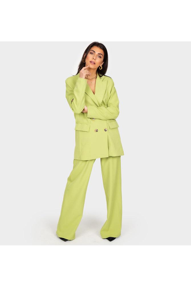 Boss Babe Trouser - Green