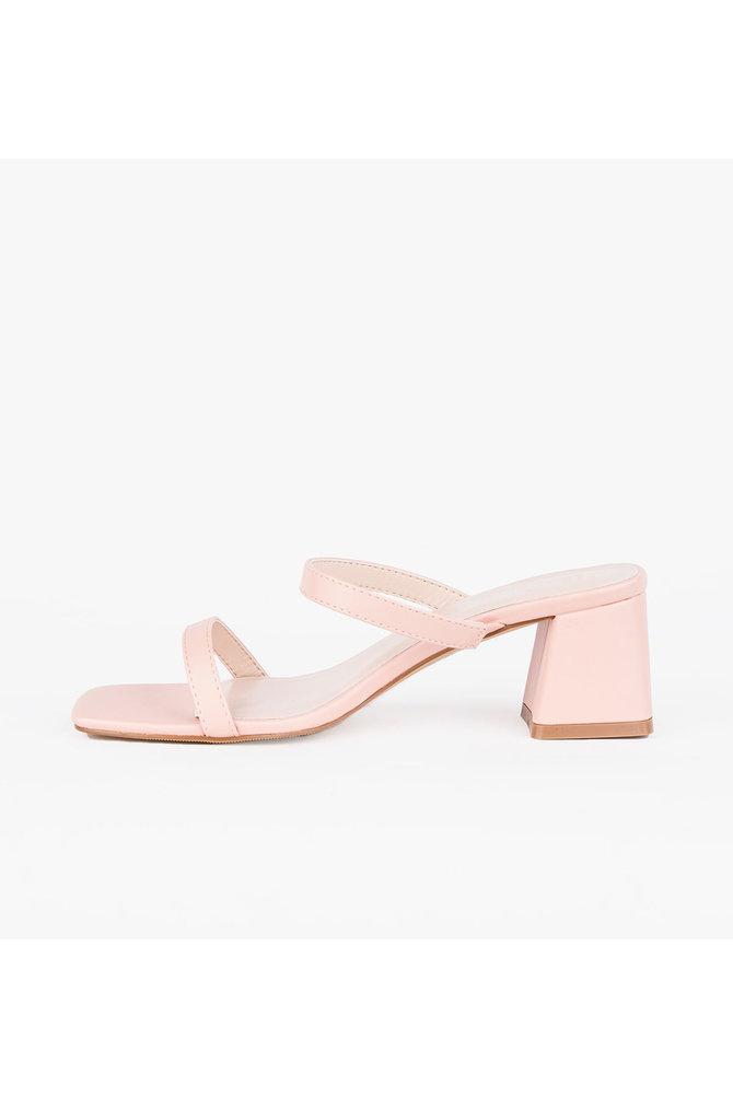 Roze sandaal