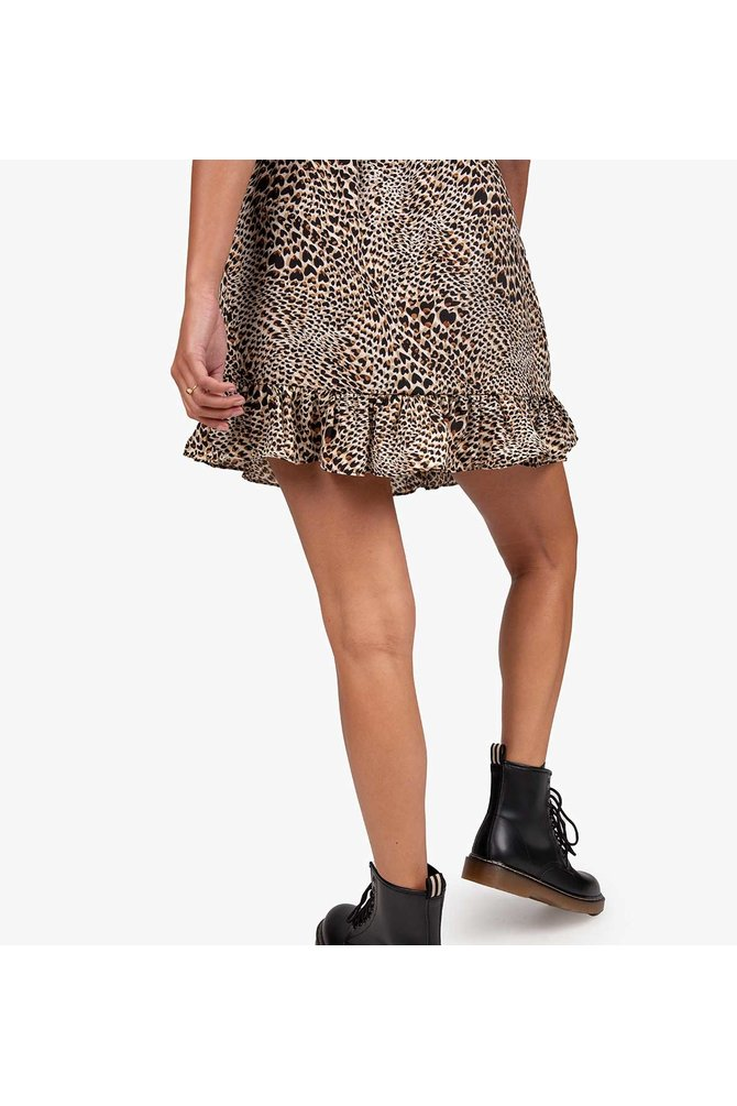 Bruine luipaard rok